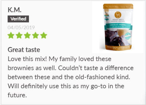 Good Dee's Keto Brownie Review on SwitchGrocery Canada