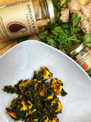 Keto friendly and low carb Saag Spinach Paneer Recipe on SwitchGrocery Canada 2