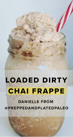 Loaded Dirty Chai Frappe