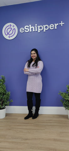 Lovepreet Kaur customer success manager for eshipper on SwitchGrocery Canada