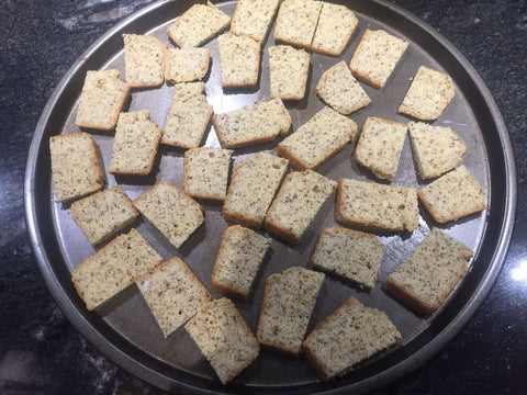 Low Carb Crackers with Bake In A Minute