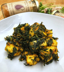 Low Carb Saag Paneer Indian Food Recipe with Jaswant's Kitchen Spices on SwitchGrocery Canada 3