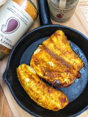 Low Carb and Paleo Friendly Indian Halibut Fish Masala Recipe with Jaswant's Kitchen Spices on SwitchGrocery Canada