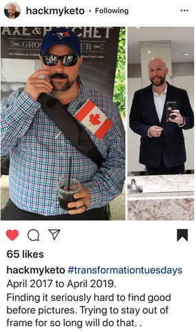 transformation tuesday - mark lost 100 lbs