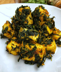 Paleo friendly Saag Paneer Recipe with Jaswant's Kitchen Spices on SwitchGrocery Canada 1