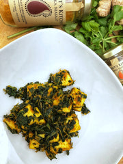 Paleo friendly Saag Paneer Recipe with Jaswant's Kitchen Spices on SwitchGrocery Canada 4