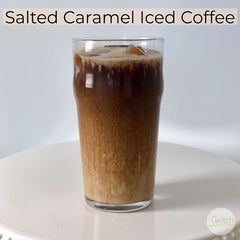 Salted Caramel Iced Coffee with Keto Chow on SwitchGrocery Canada