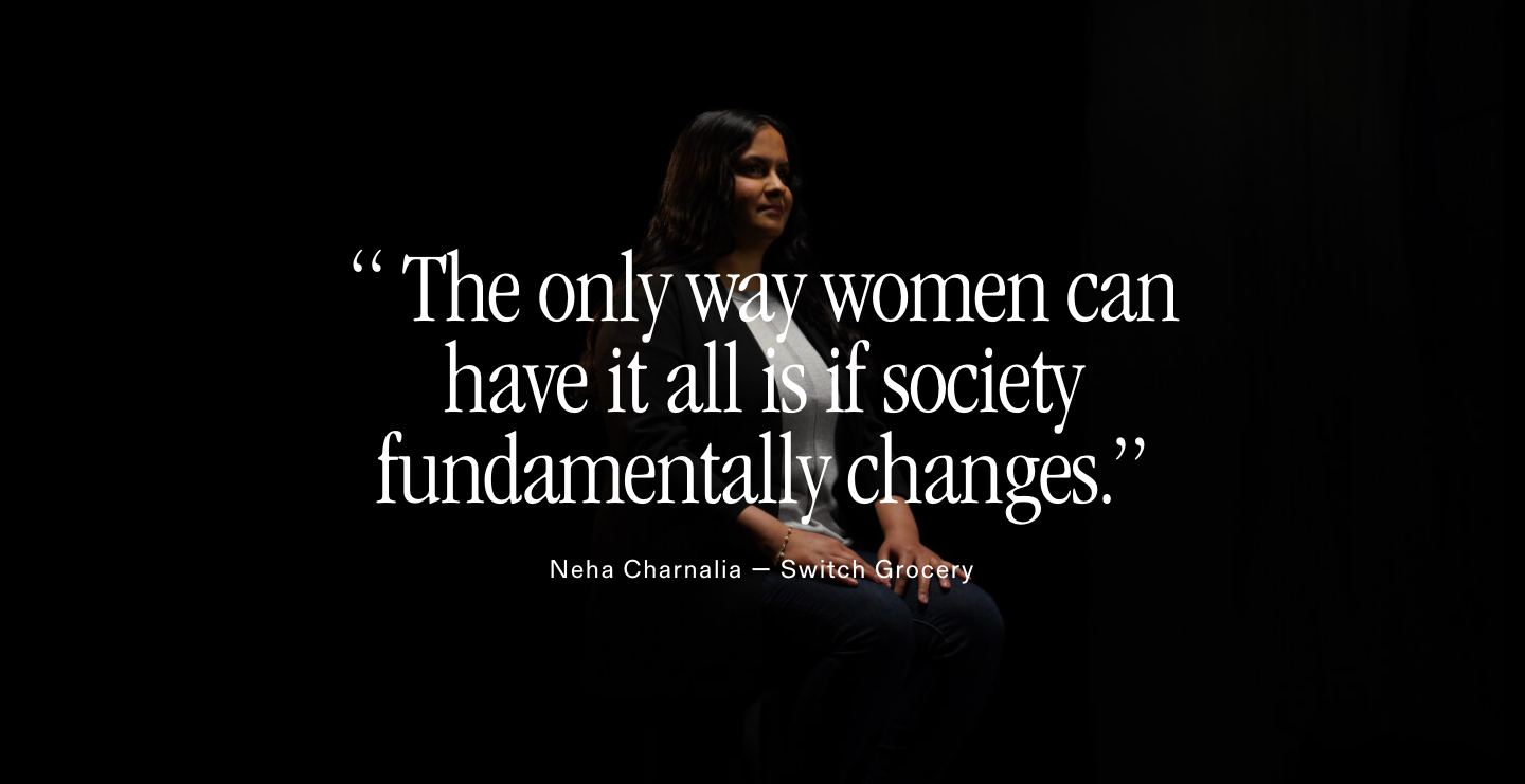 Neha founder of SwitchGrocery interview with Clearbanc Clearco International Women's Day