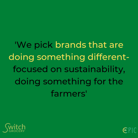 SwitchGrocery sustainability interview with Naman from Epic