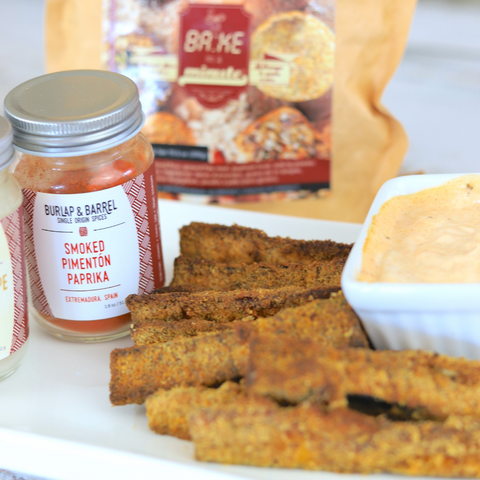 Zucchini Fries with Switchgrocery Products