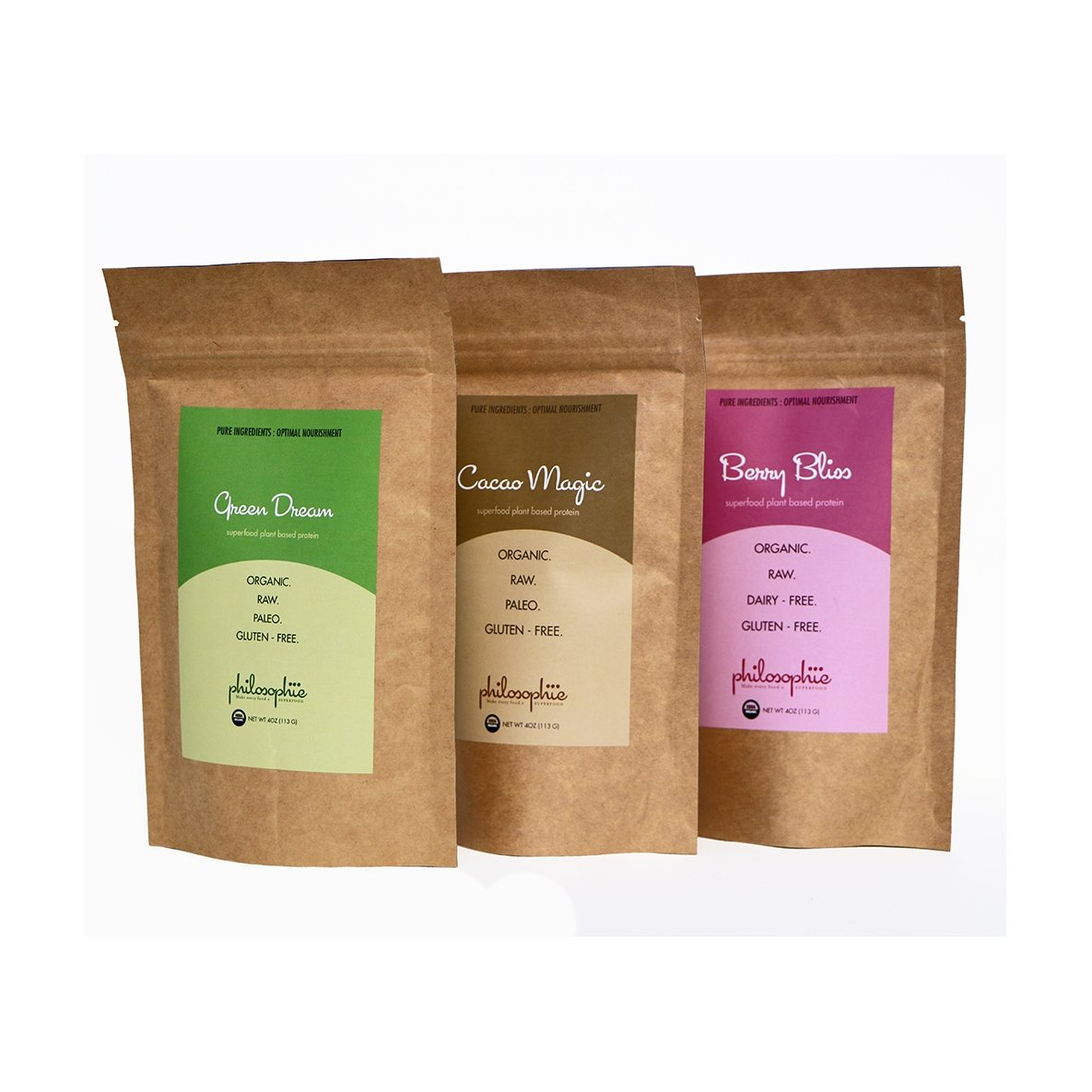 Philosophie Superfood Protein Powders Bundle keto protein vegan on SwitchGrocery Canada