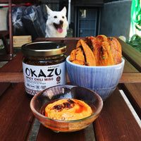Okazu Spicy Chili Miso Sauce for Sweet Potato Fries
