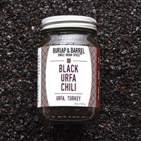 Burlap & Barrel Black Urfa Chili Spice Jar on SwitchGrocery Canada
