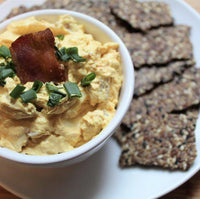 Bacon and Egg Keto Tadka Dip with Jaswant's Kitchen on SwitchGrocery Canada