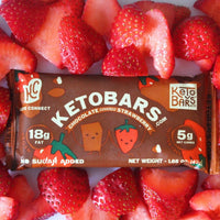 Chocolate covered strawberry keto bar ketoconnect on SwitchGrocery Canada