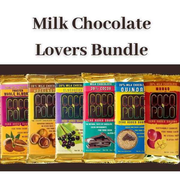 Coco Polo Milk Chocolate Lovers Bundle