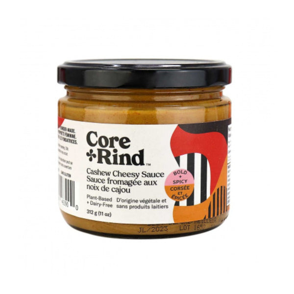 Core & Rind Dairy Free Cheesy Sauce Bold + Spicy on SwitchGrocery Canada