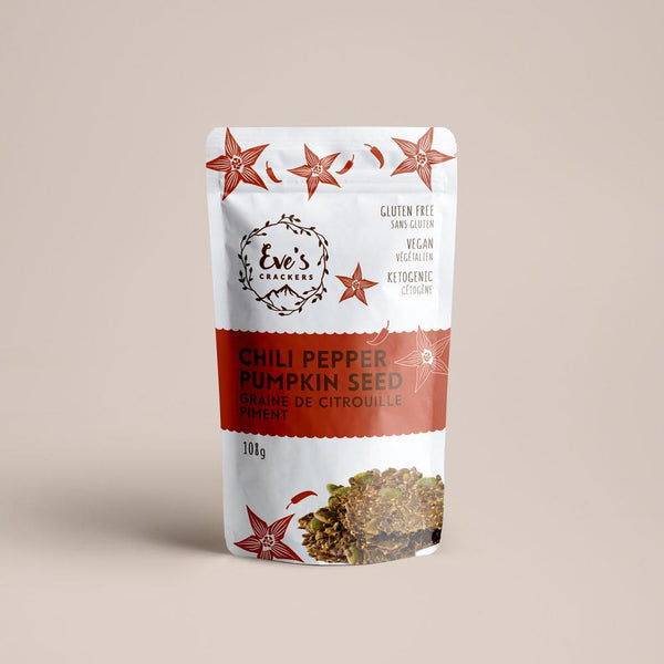 Eve's Crackers Chili pepper Pumpkin Seed on SwitchGrocery
