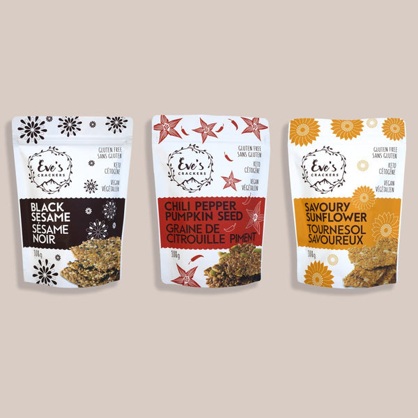 Eve's Crackers Tasting Bundle on SwitchGrocery