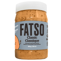 Fatso Classic Almond and Seed Butter Front on SwitchGrocery