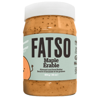 Fatso Maple Almond and Seed Butter Keto Friendly Front on SwitchGrocery