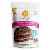 Good Dee's Chocolate Snack Cake Low Carb Cake on SwitchGrocery
