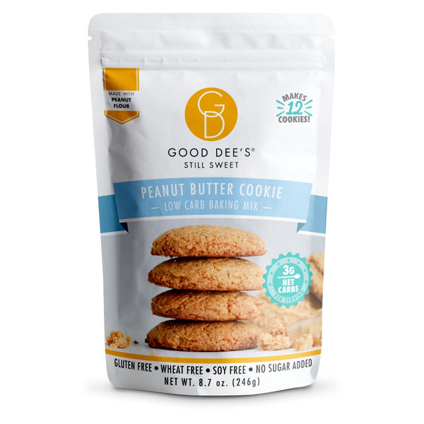 Good Dee's Low Carb Sugar Free Peanut Butter Cookies on SwtichGrocery