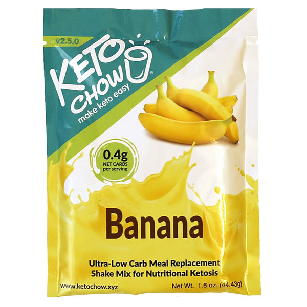 Keto Chow Canada Banana Shake Sample on SwitchGrocery Canada