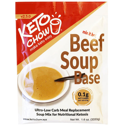 Keto Chow - Beef Soup Base (Single Serving)