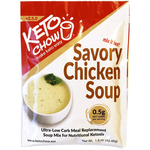 Chicken Soup Keto Chow Single Serve on SwitchGrocery Canada