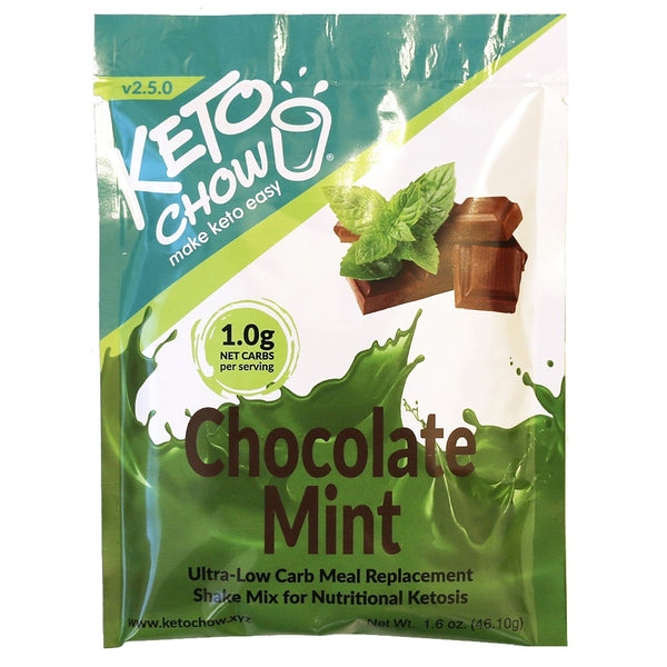 Keto Chow Chocolate Mint Shake Single on SwitchGrocery Canada
