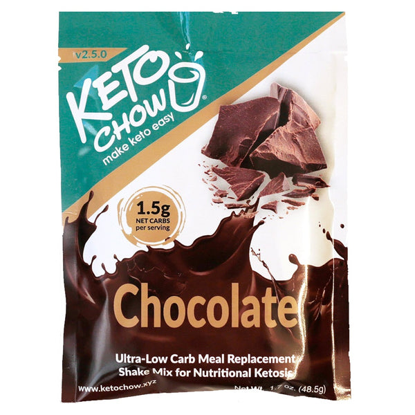 Keto Chow Canada Chocolate Shake Sample Pack on SwitchGrocery Canada
