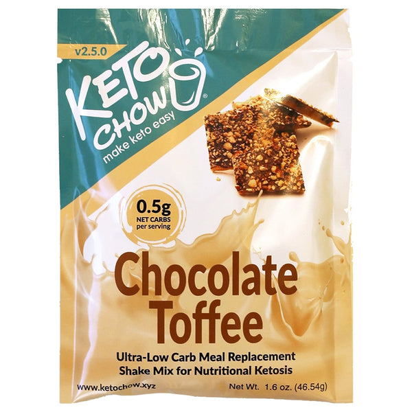 Chocolate Toffee Keto Chow Single Serve on SwitchGrocery Canada