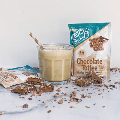 Keto Chow - Chocolate Toffee Shake (Single Serving)