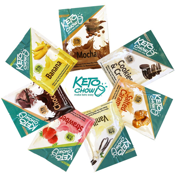 Keto Chow Classic Sample Pack