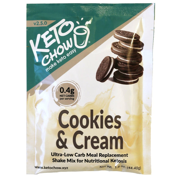 Keto Chow Canada Cookies and Cream Shake on SwitchGrocery Canada