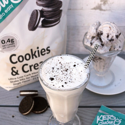 Keto Chow - Cookies and Cream Shake (Single Serving)