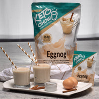 Keto Chow Eggnog Shake Made on SwitchGrocery