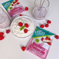 Keto Chow Raspberry Cheesecake Single Serving on SwitchGrocery