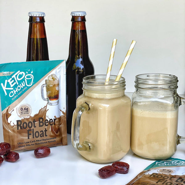 Keto Chow Root Beer Float Single Serving on SwitchGrocery