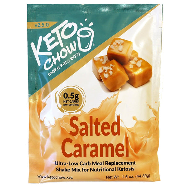 Keto Chow Canada Salted Caramel sample pack on SwitchGrocery Canada