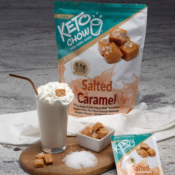 Keto Chow Salted Caramel Single Serving on switchGrocery