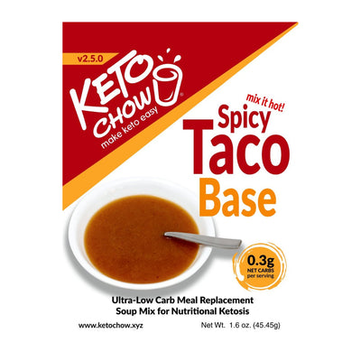 Keto Chow - Spicy Taco Soup (single serving)