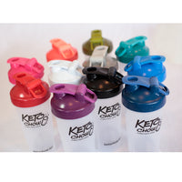Keto Chow Mixed Colour Blender Bottle on SwitchGrocery