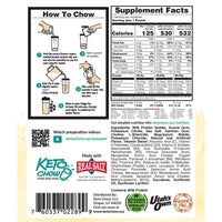 Keto Chow Smores Nutritional on SwitchGroceryu