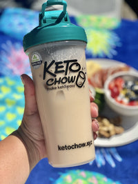 Keto Chow chocolate toffee single serving shake on SwitchGrocery Canada