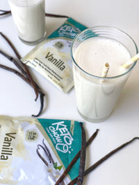 Keto Chow vanilla single serving shake on SwitchGrocery Canada