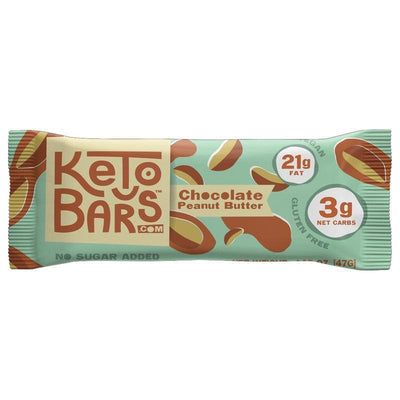Keto Bars - Chocolate Peanut Butter
