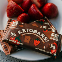 Keto Bars Chocolate Strawberry Protein bar on SwitchGrocery