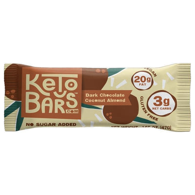 Keto Bars - Dark Chocolate Coconut Almond